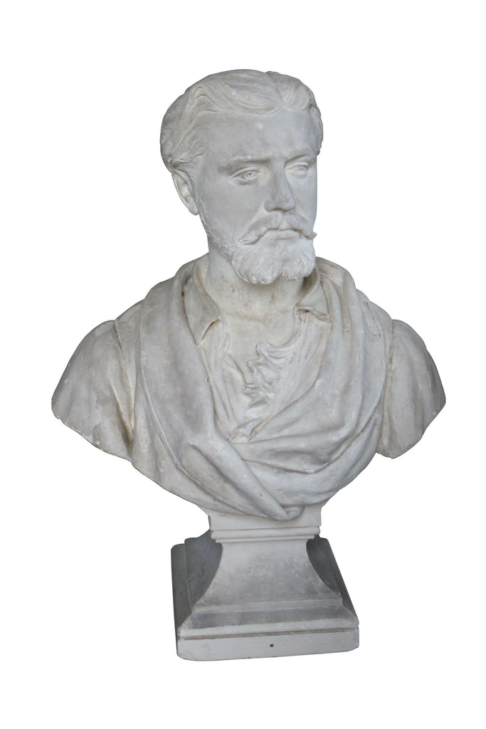 A Plaster Bust of a Man