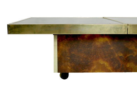 Willy Rizzo Style Cocktail Table