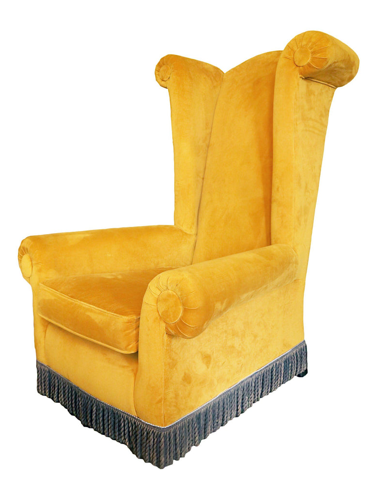 Castle Wing Chair - A Modern Grand Tour