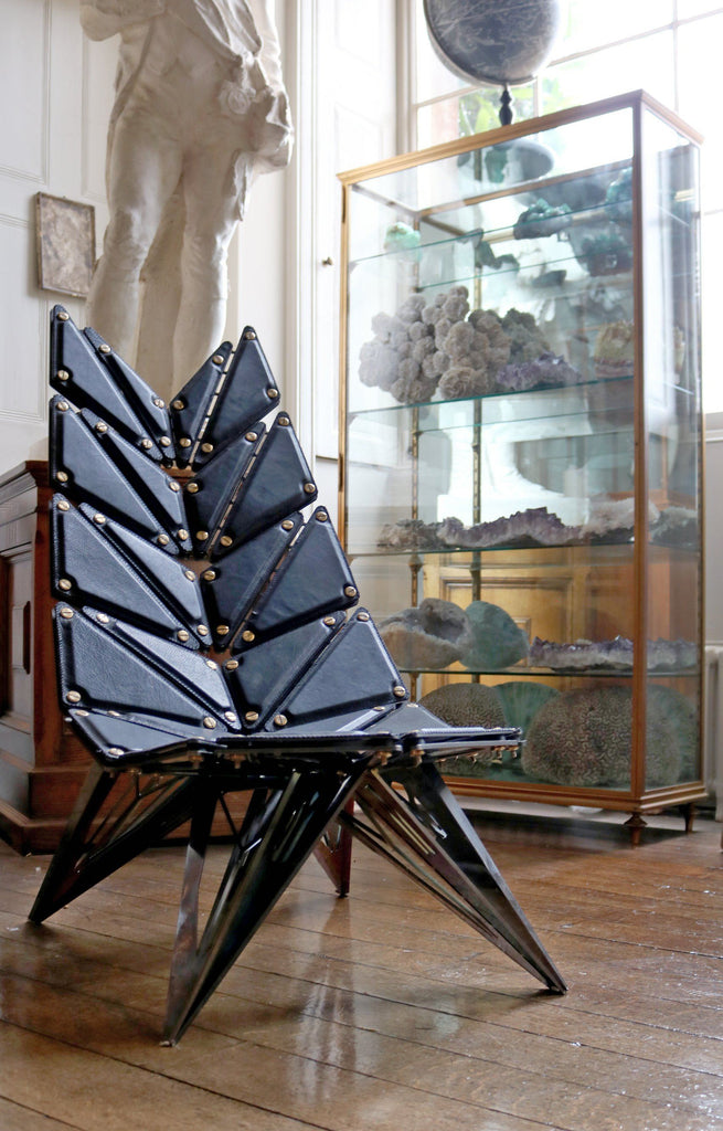 'Crystal Inspired Lounge Chair' by Ian Douglas Jones - A Modern Grand Tour
