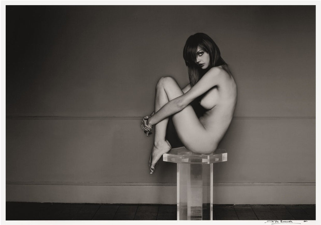 'Nude on pedestal' by John Swannell - 2011 - A Modern Grand Tour