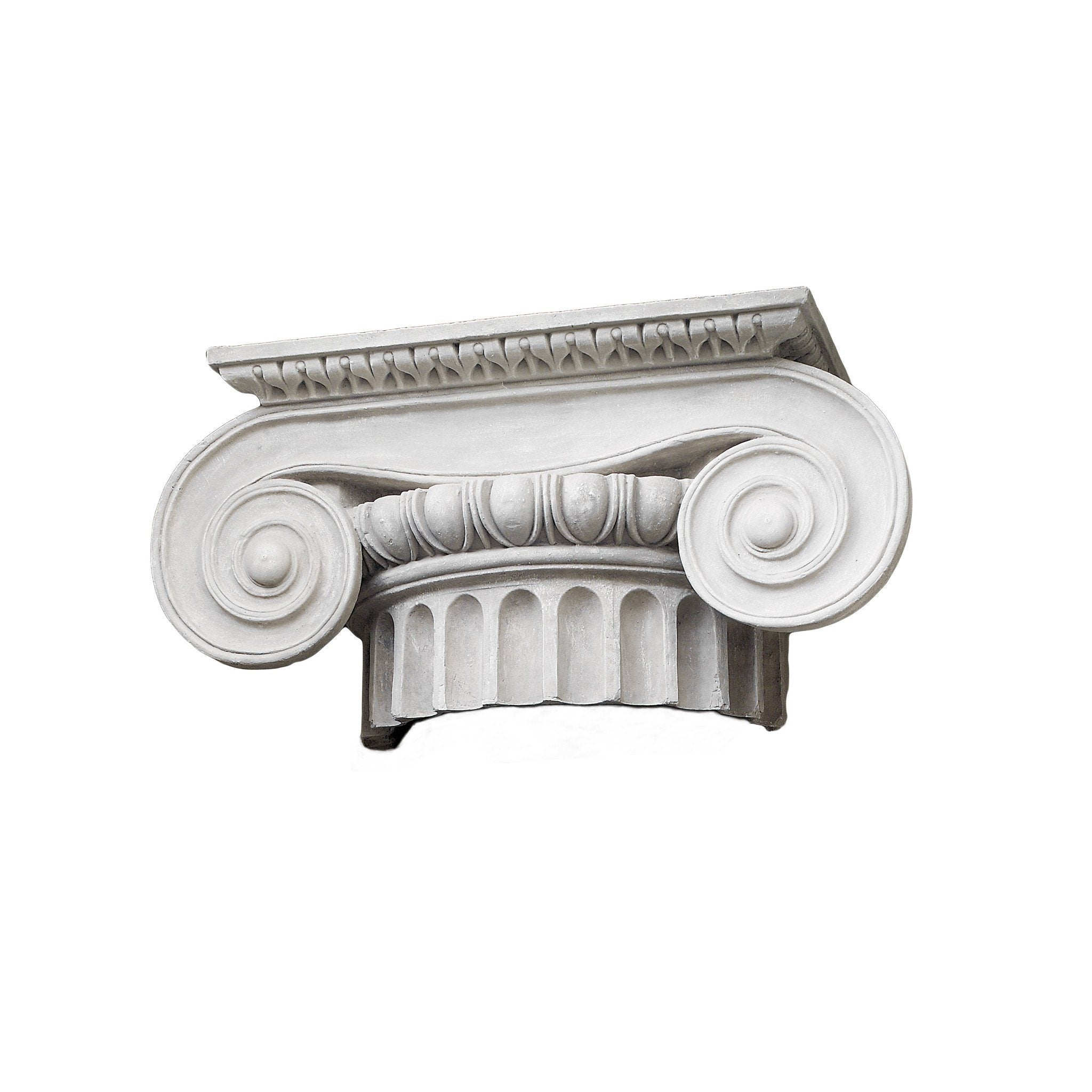 Large Iconic Plaster Capital - A Modern Grand Tour