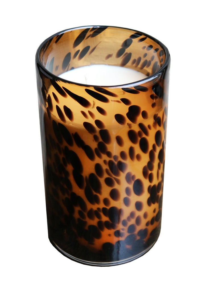 Large Luxury Aynhoe Park Candle - Tortoiseshell Bear - A Modern Grand Tour