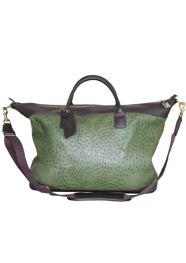 Large Aynhoe Overnight Bag in Green