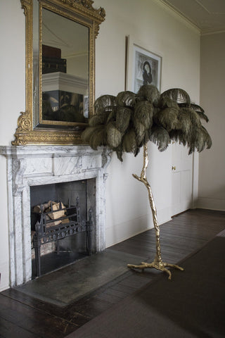 NEW - The Ostrich Feather Lamp Moss