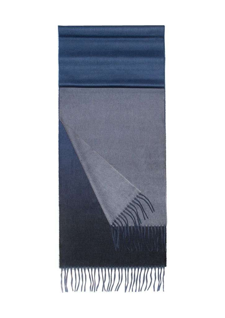 Nuance Ombre Cashmere Throw Cosmos - A Modern Grand Tour