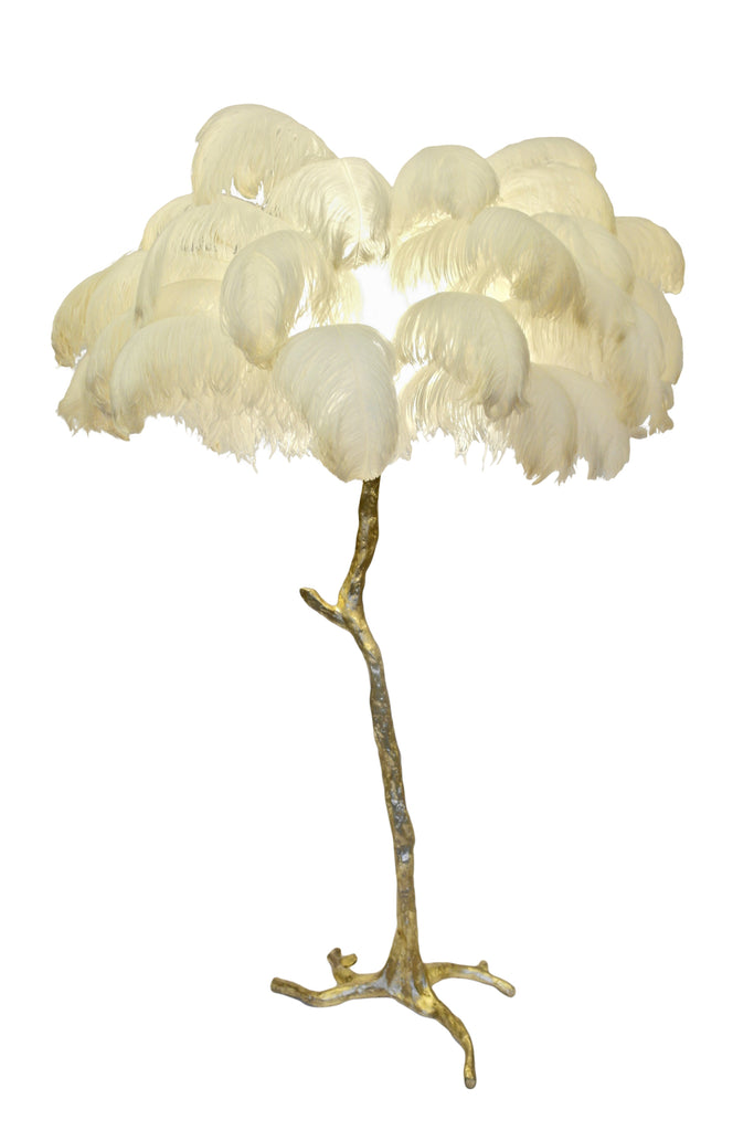 The Feather Floor Lamp - A Modern Grand Tour
