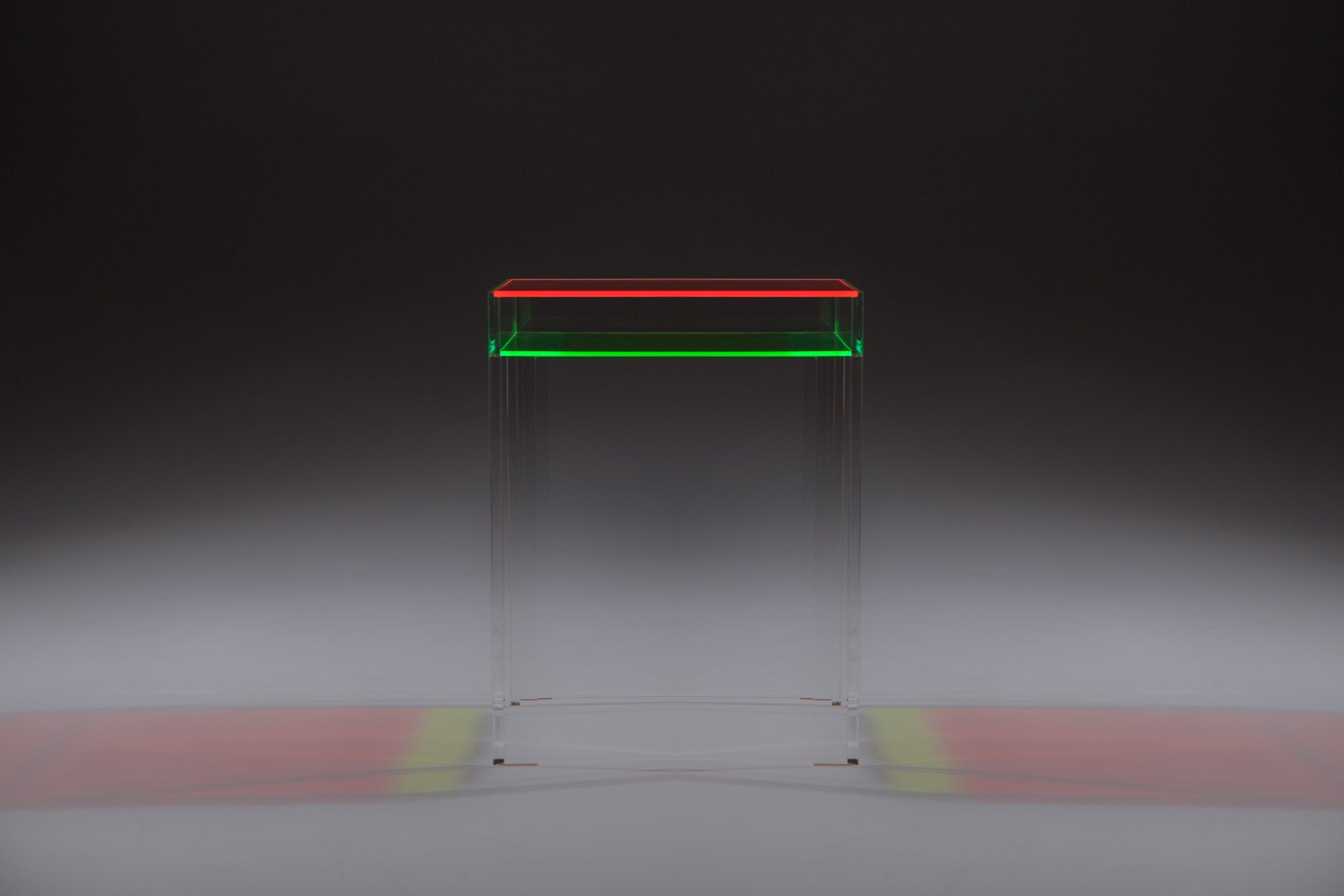 Neon Equinox Table - Pink/Green by Dio Davies - A Modern Grand Tour