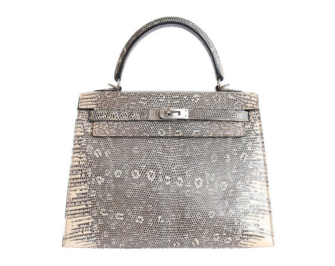 Hermes Lizard Skin Kelly Handbag - A Modern Grand Tour
