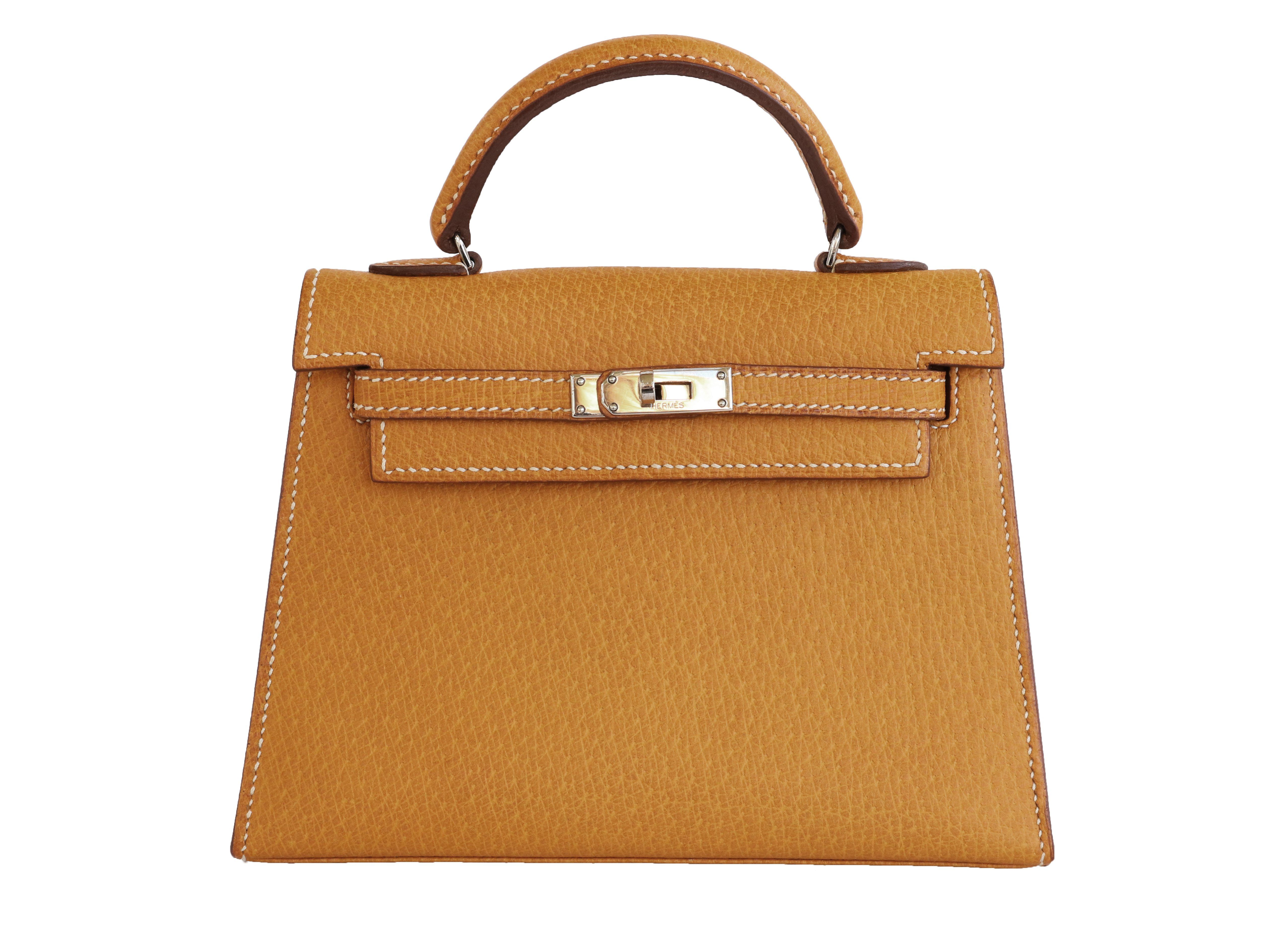 "Hermes Limited Edition Pig Skin ""Kelly"""