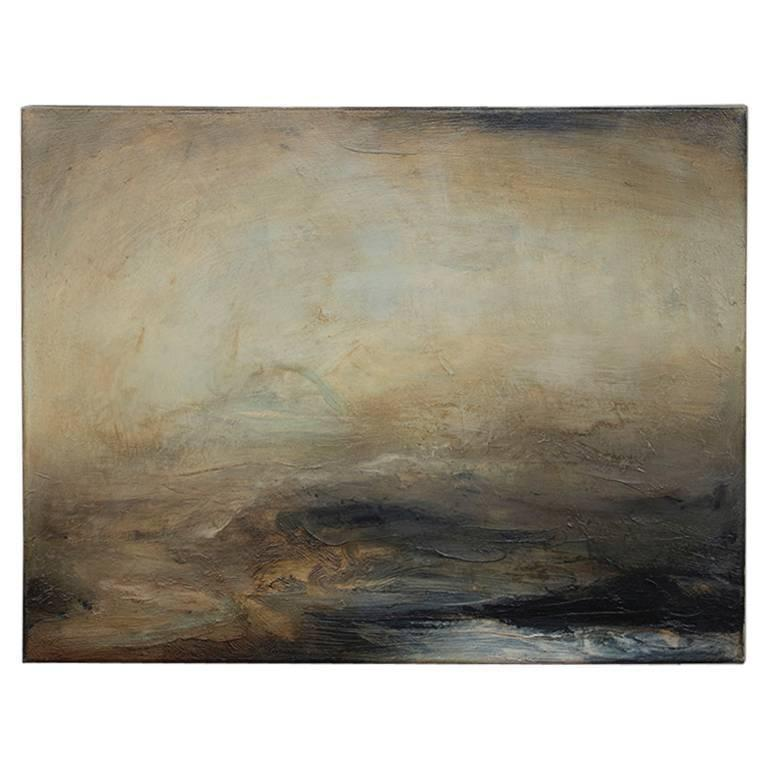 'Old River' No. 1 - Oil on Linen Abstract Painting