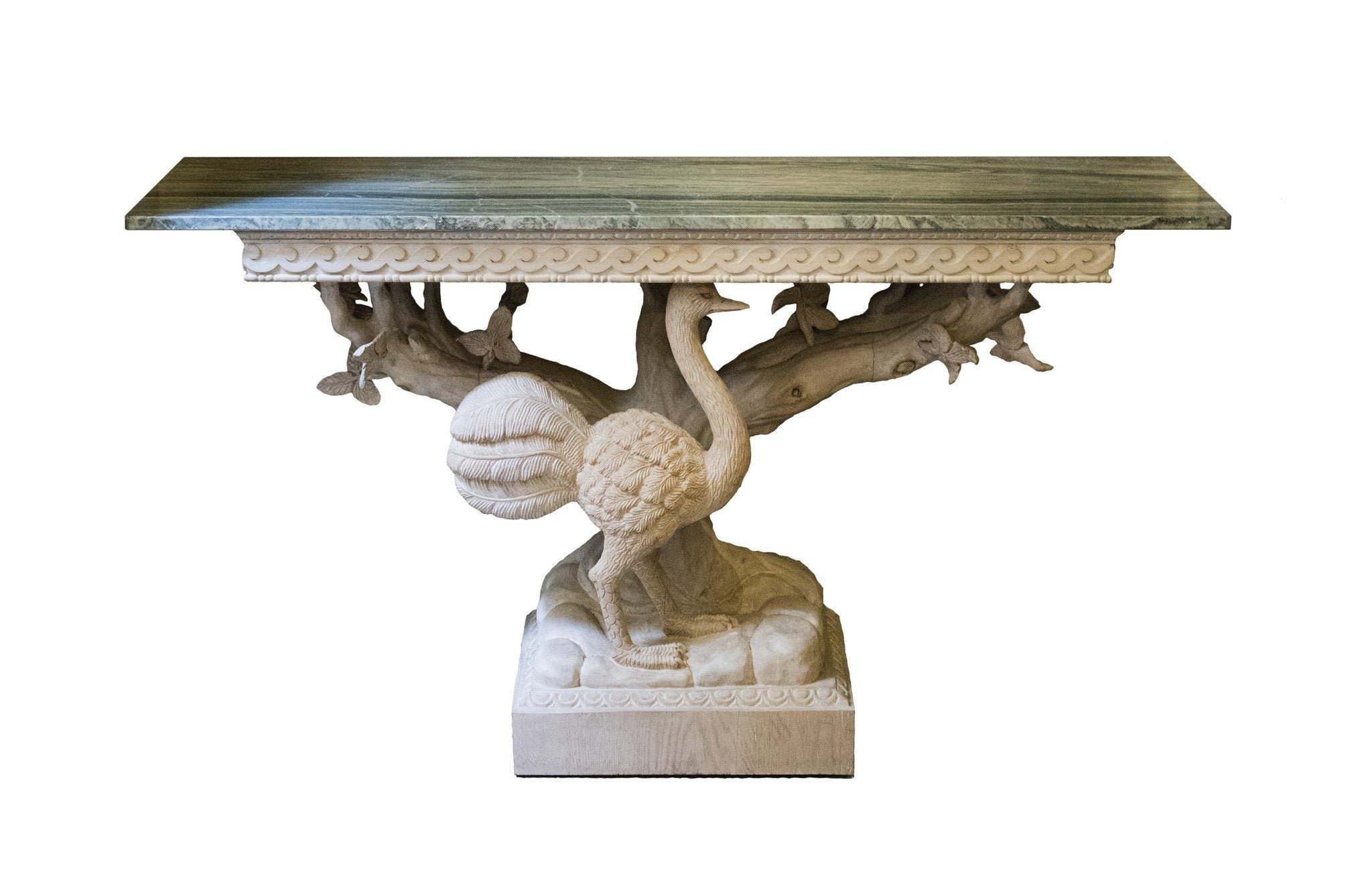 20th Century Ostrich Console Table