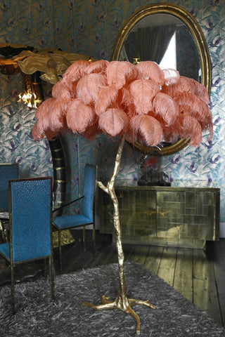 The Ostrich Feather Lamp Coral