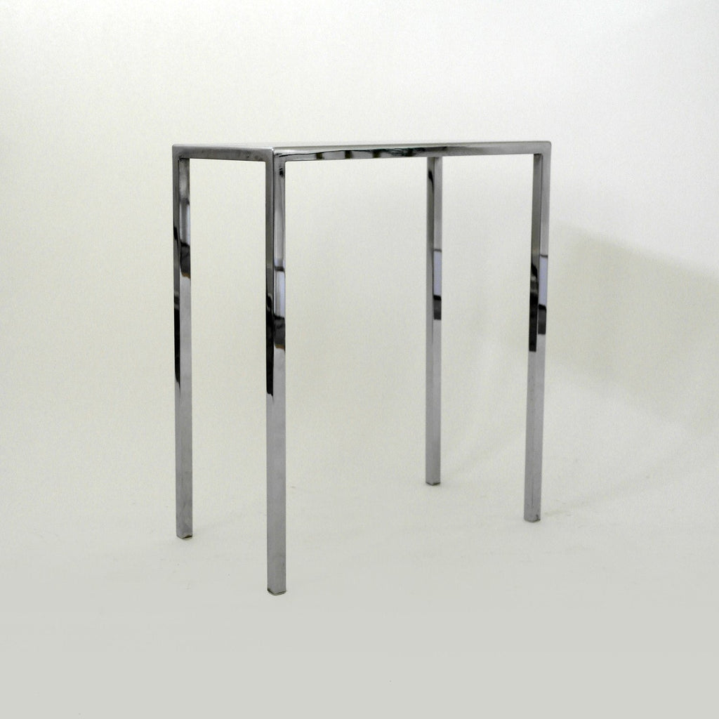 Pair of Chrome Side Tables by Philippe Starck - A Modern Grand Tour