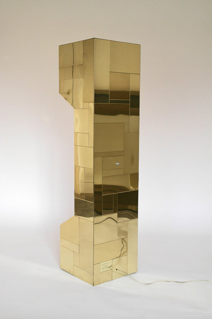 Patchwork Cityscape Uplighter Floor Lamp - A Modern Grand Tour