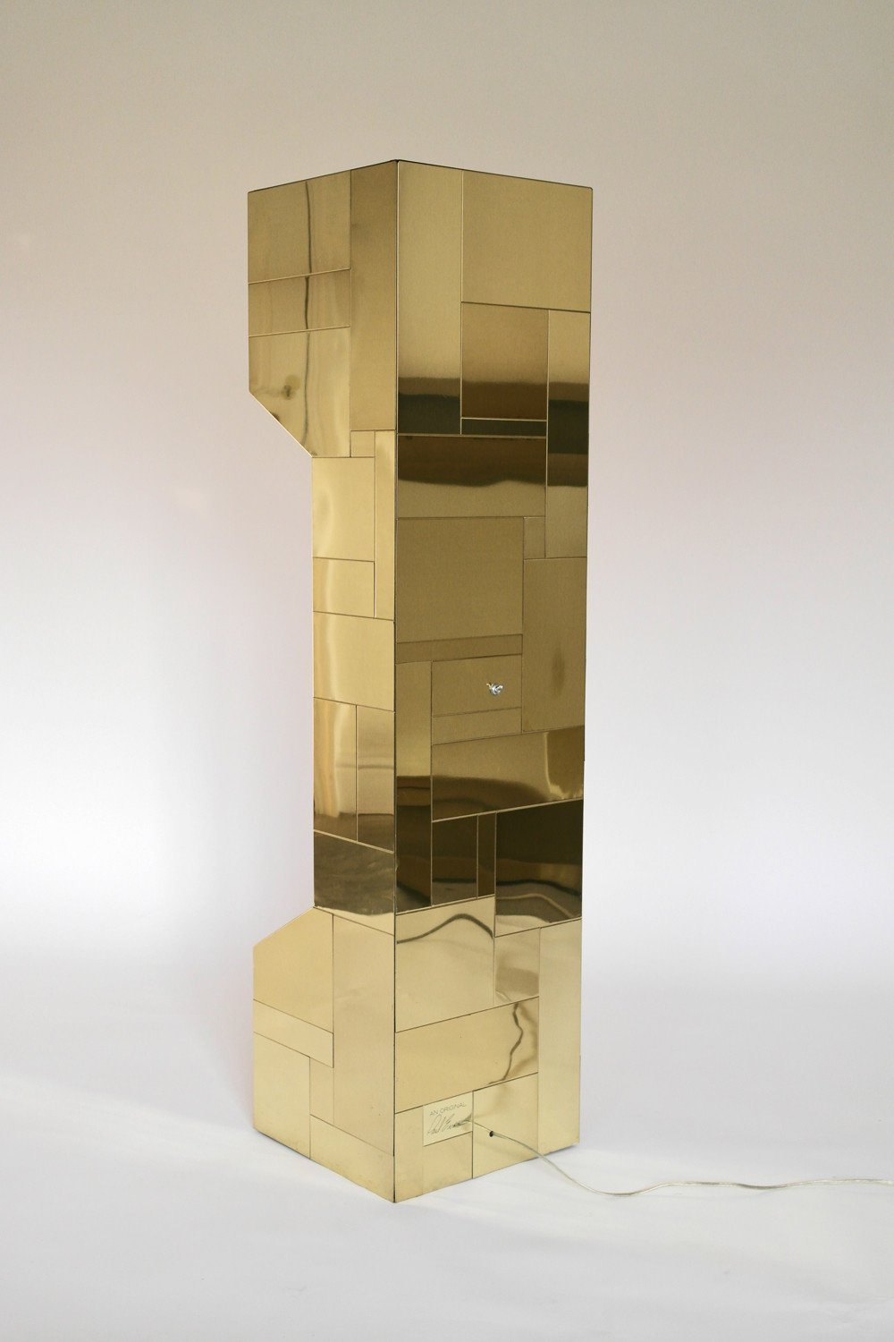 Patchwork Cityscape Uplighter Floor Lamp