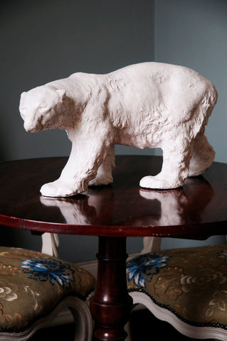 A Stalking Plaster Polar Bear