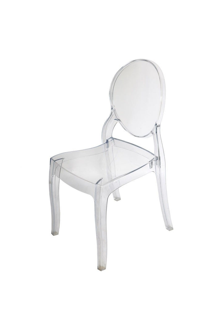 Clear Ghost Chair - A Modern Grand Tour