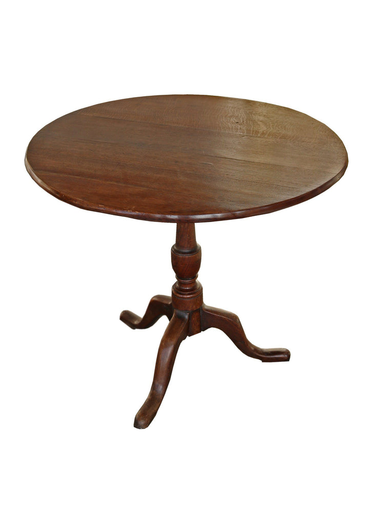 A Georgian Oak Tripod Hall Table - A Modern Grand Tour