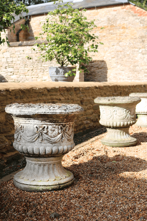 Pair of Garden Urns - A Modern Grand Tour