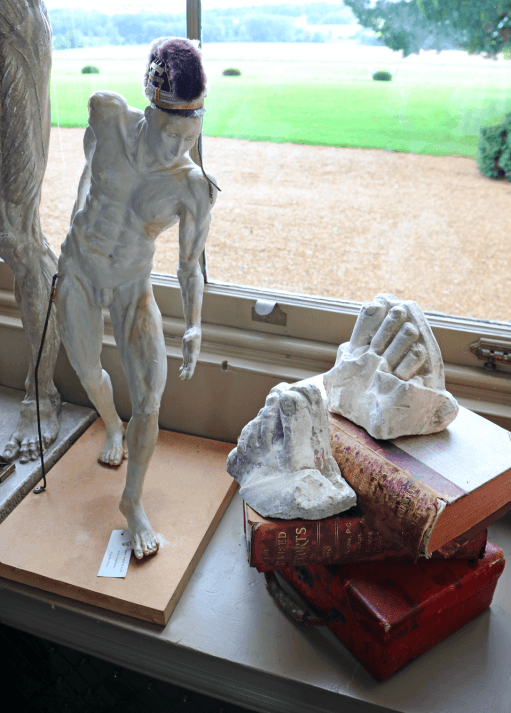 Pair of late 19th Century plaster feet fragments - A Modern Grand Tour