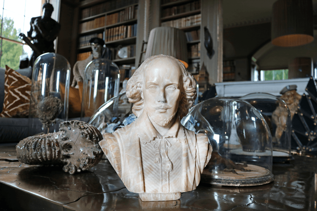Alabaster Shakespeare Bust - A Modern Grand Tour