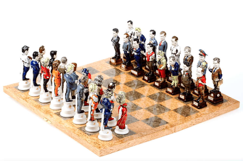 New Era Our Contemporaries Chess Set by Golovko - A Modern Grand Tour