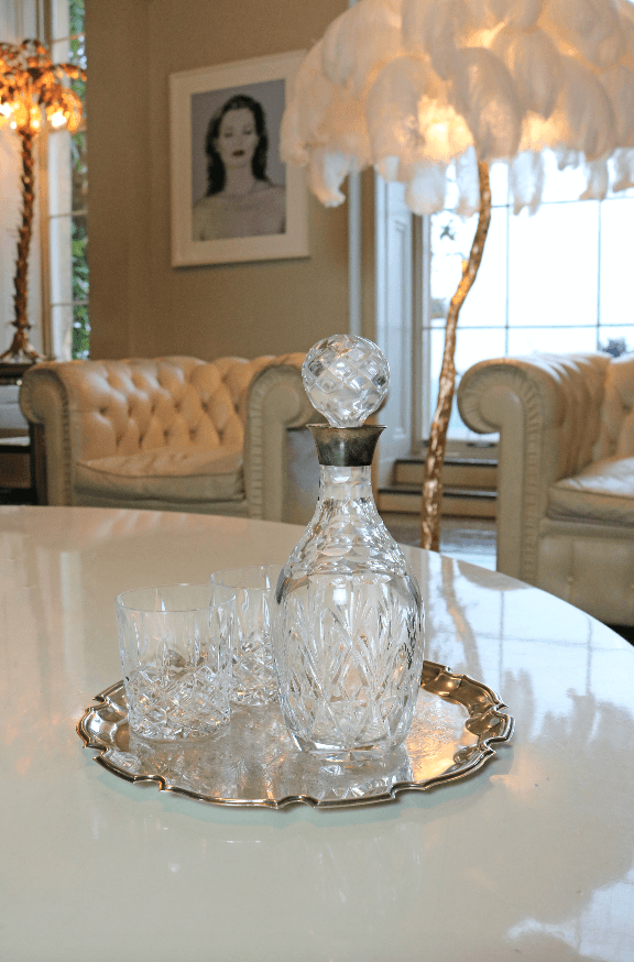 Crystal Decanter - A Modern Grand Tour