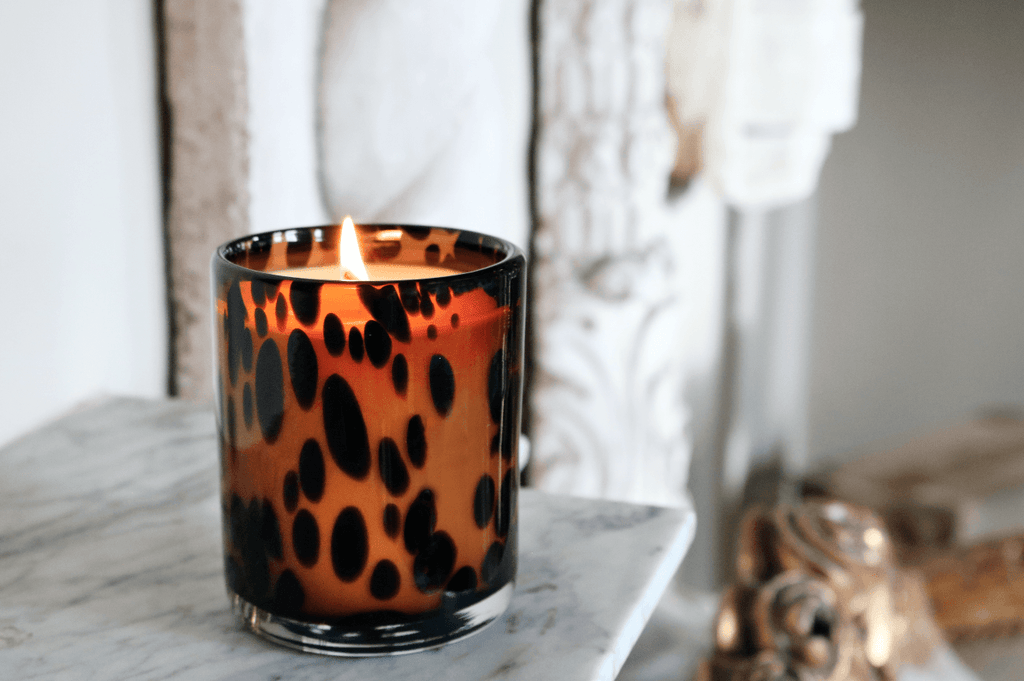 Luxury Aynhoe Park Candle - Tortoiseshell Bear - A Modern Grand Tour
