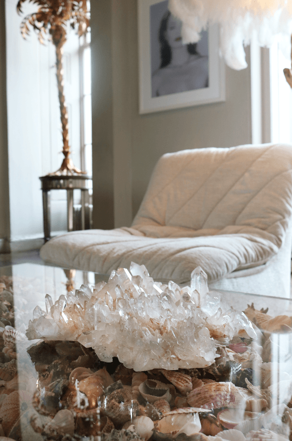 Clear Quartz Crystal - A Modern Grand Tour