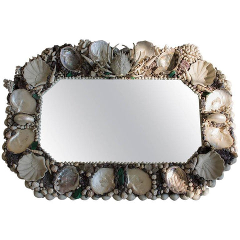 Monumental Shell Mirror by Anthony Redmile