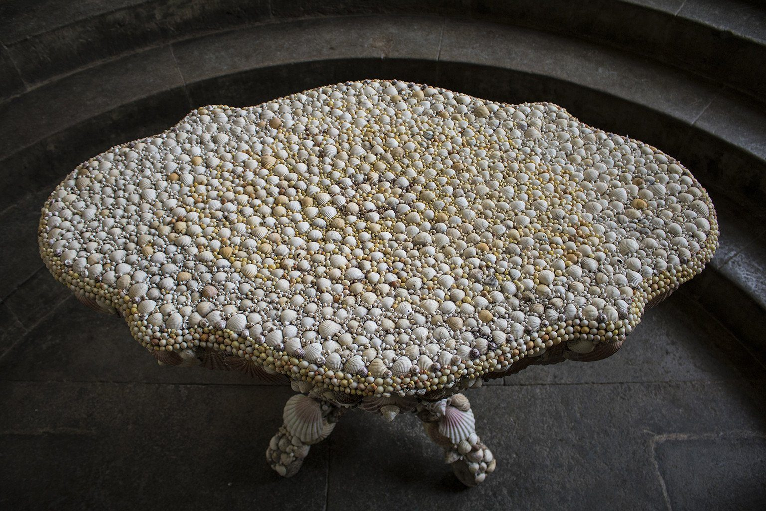 A 1970's Shell Table by Antony Redmile