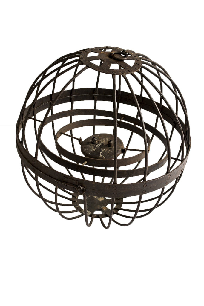 Large Spherical Ships Lantern - A Modern Grand Tour