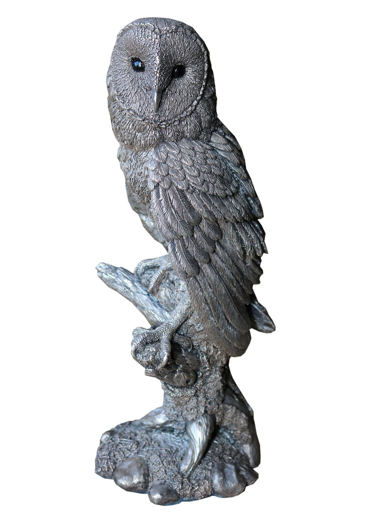 Silver Owl Ornament - A Modern Grand Tour