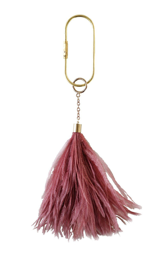 Feather Keyring in Dusk - A Modern Grand Tour