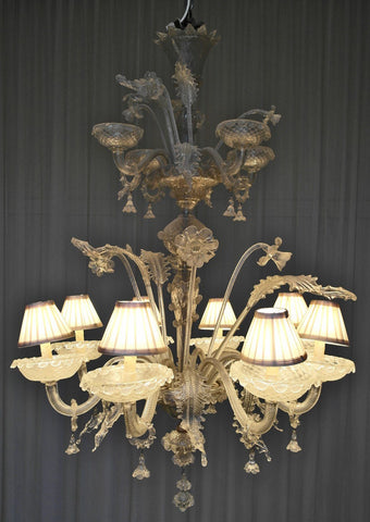 murano glass chandelier prices vintage uk magnificent large venetian ebay