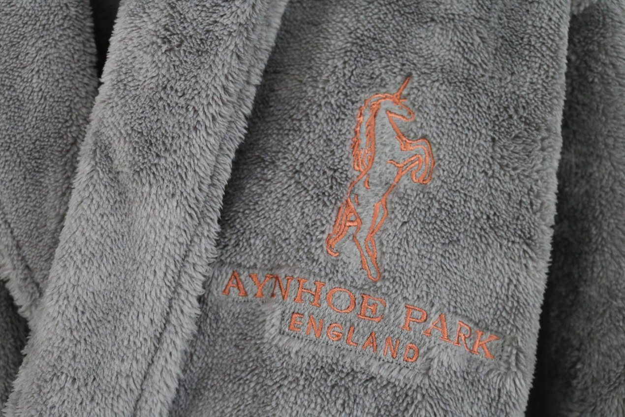 Aynhoe Park Unicorn Dressing Gown - A Modern Grand Tour