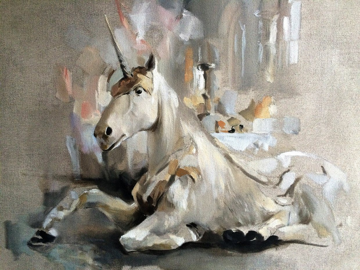 'The Aynhoe Unicorn' by Rico White - A Modern Grand Tour