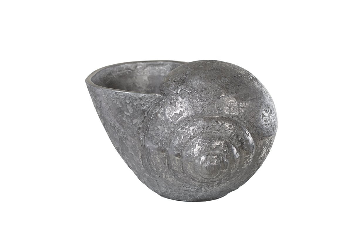 Silver Shell Ice Bucket