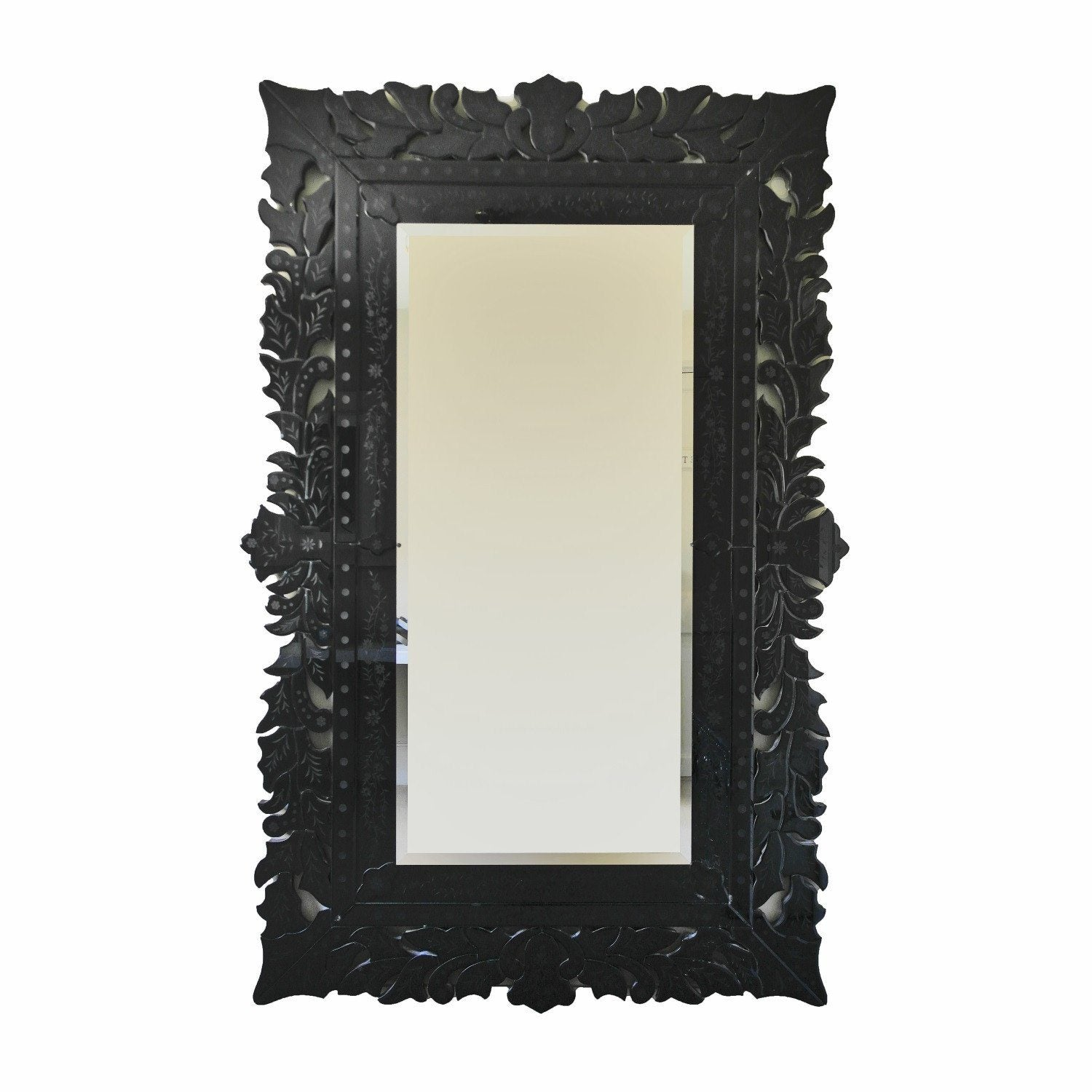 Bregora - Superb large carved mirror