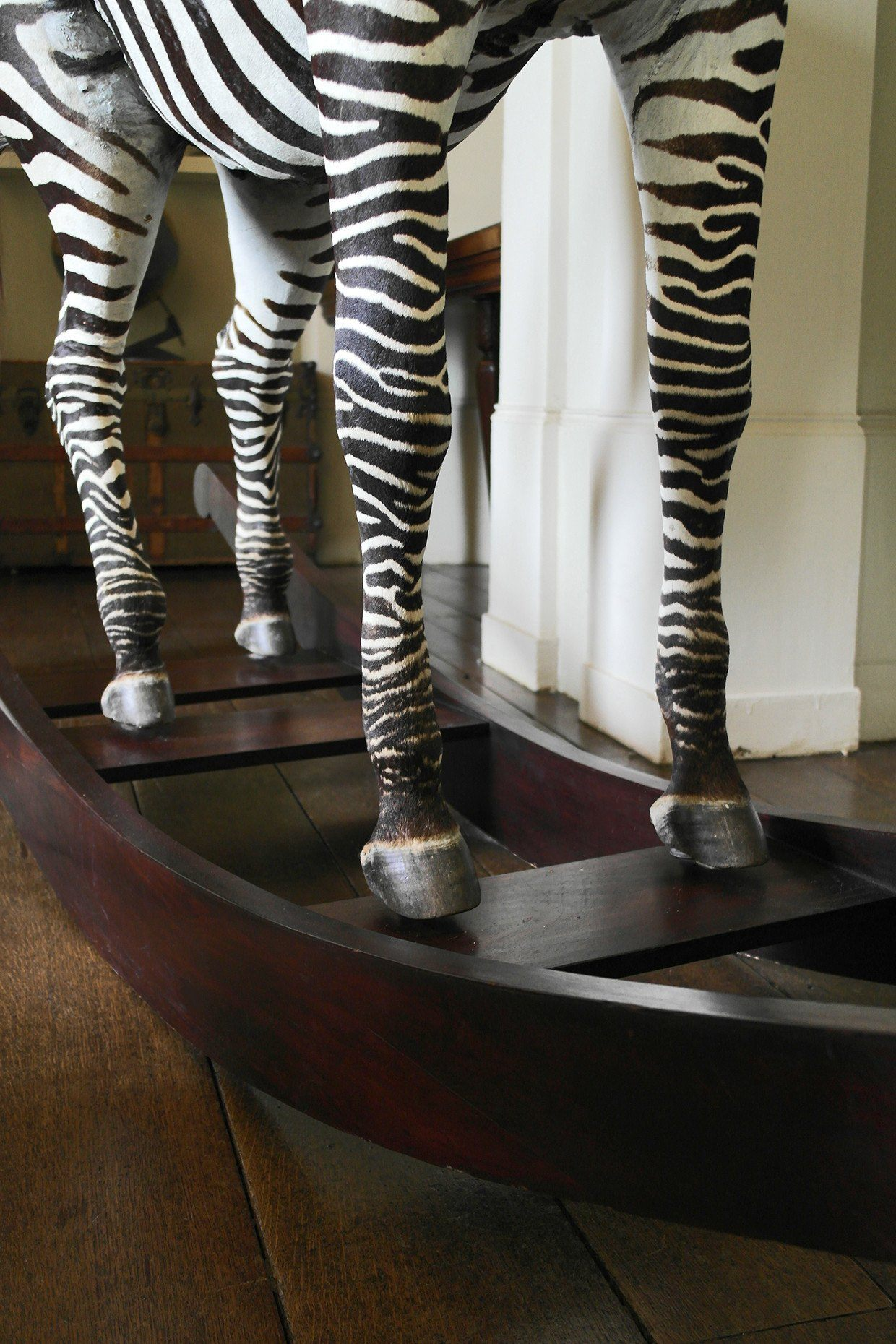 The Aynhoe Rocking Zebra by James Perkins Studio - A Modern Grand Tour