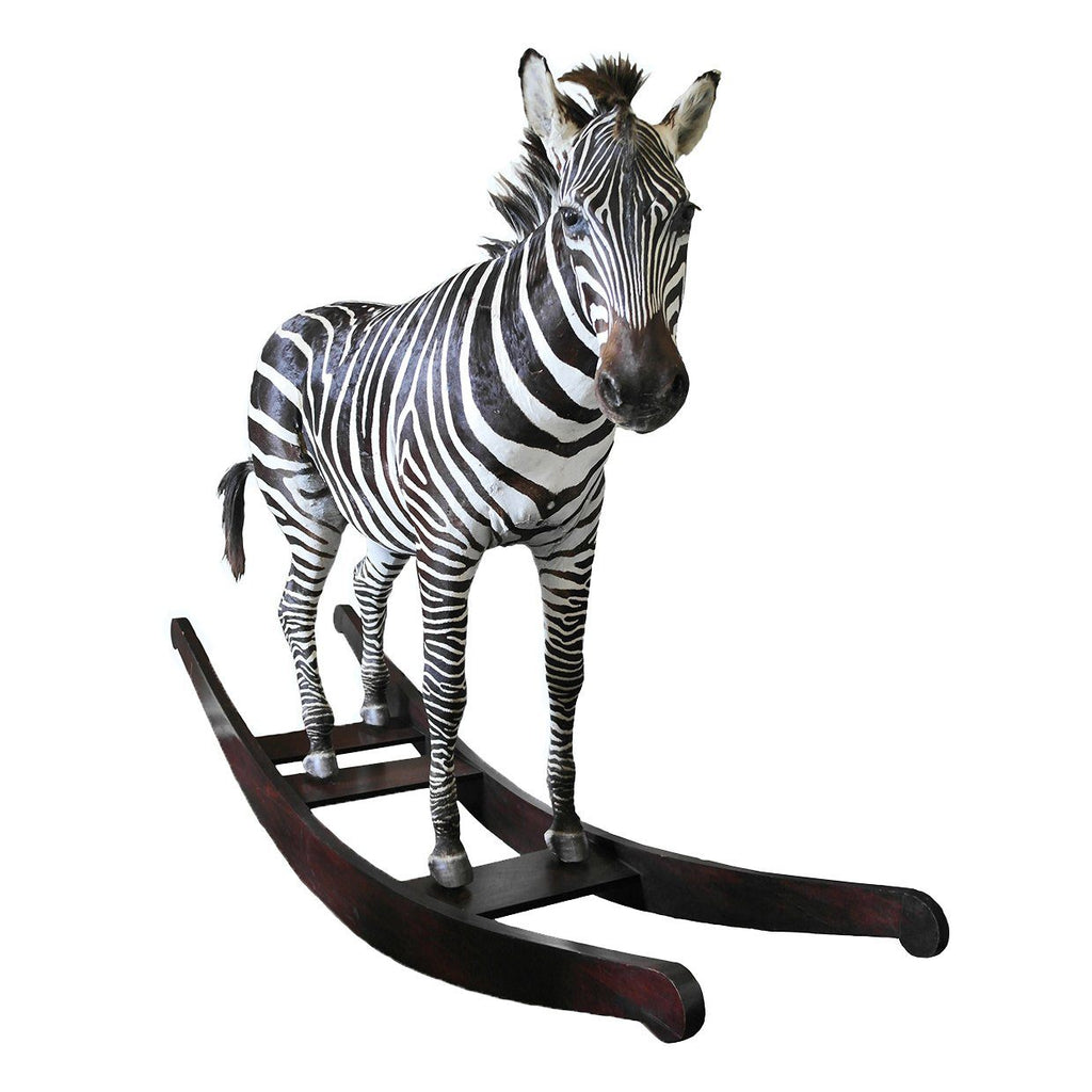 'The Original Aynhoe Rocking Zebra' by James Perkins Studio - A Modern Grand Tour