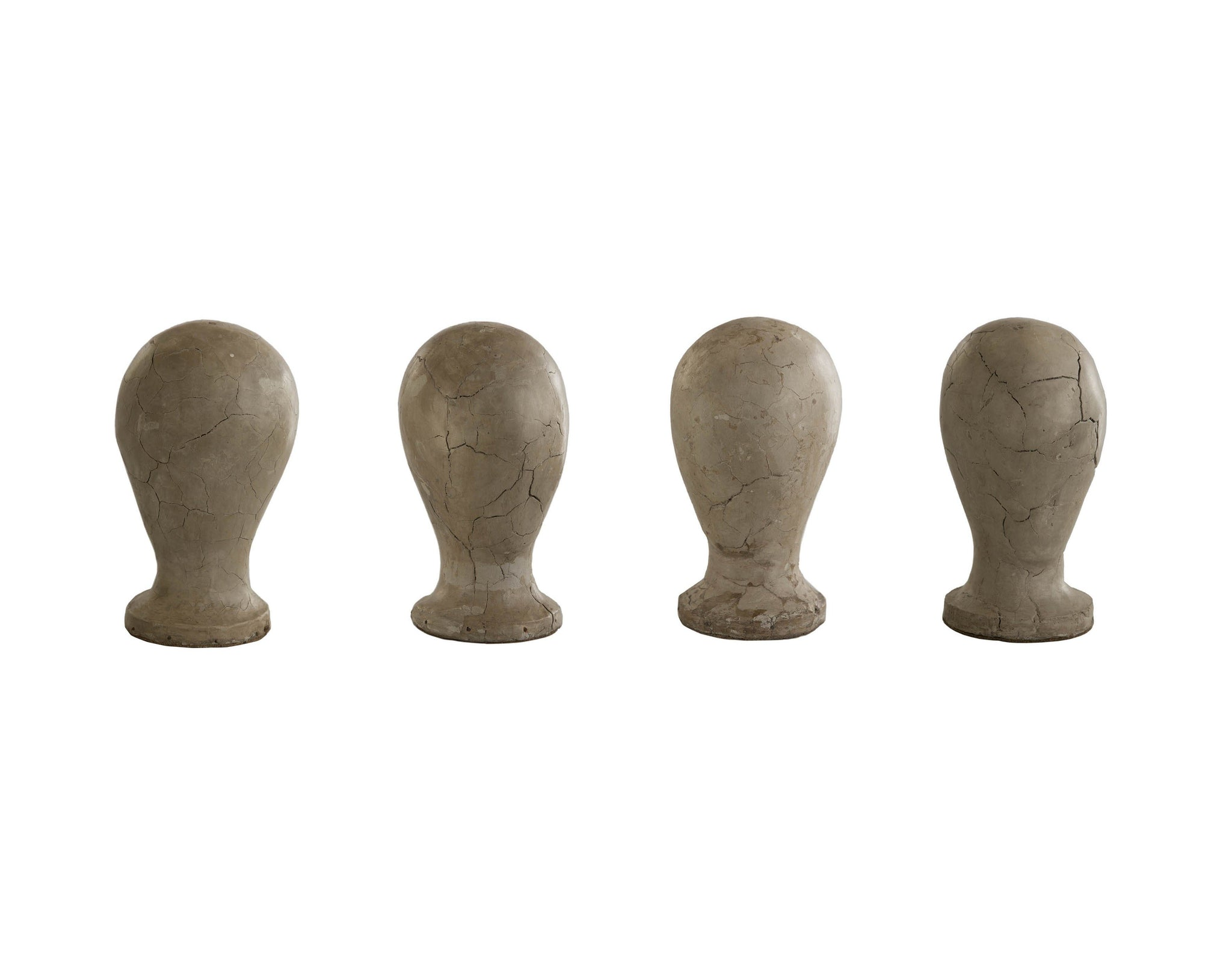 Clay Milliners Heads