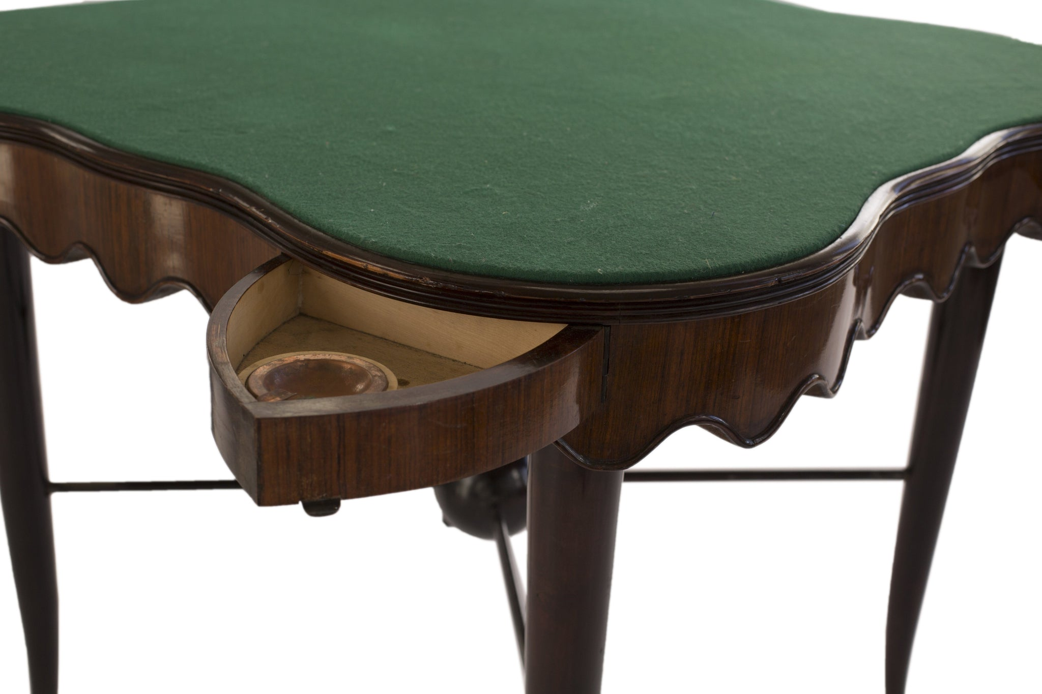 Art Deco Continental Card Table - A Modern Grand Tour