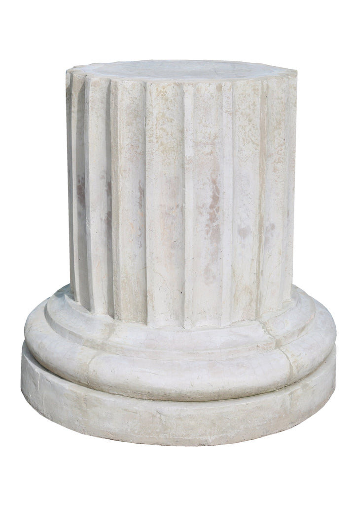 Large Fluted Plaster Column - A Modern Grand Tour