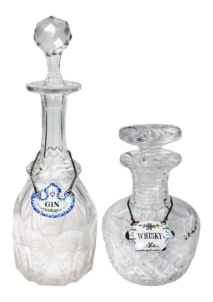 Whisky and Gin Decanters - A Modern Grand Tour