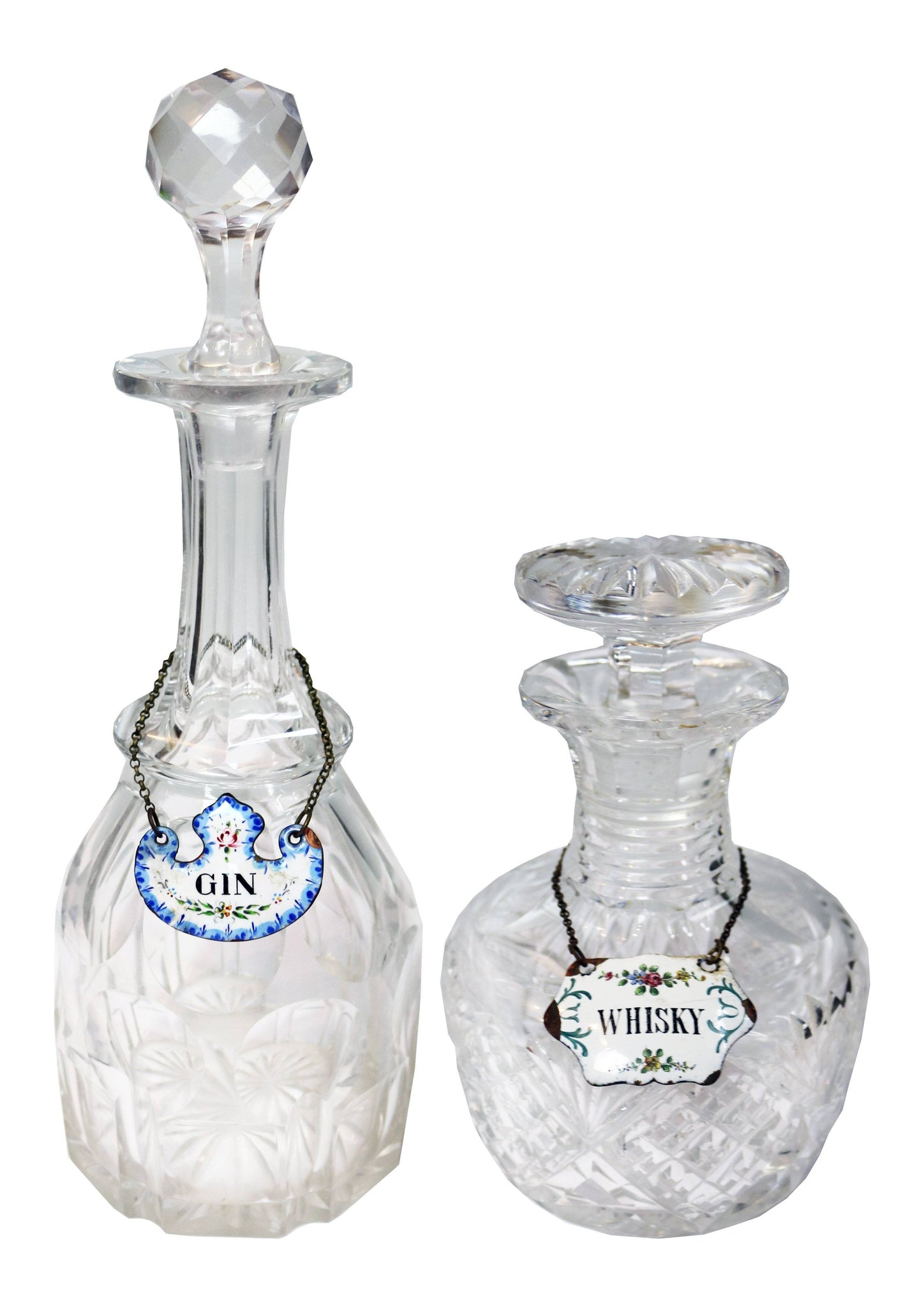 Whisky and Gin Decanters