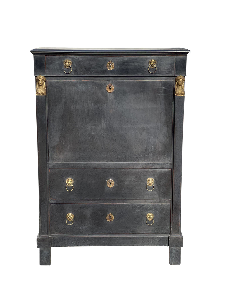 A Painted Wooden Cabinet