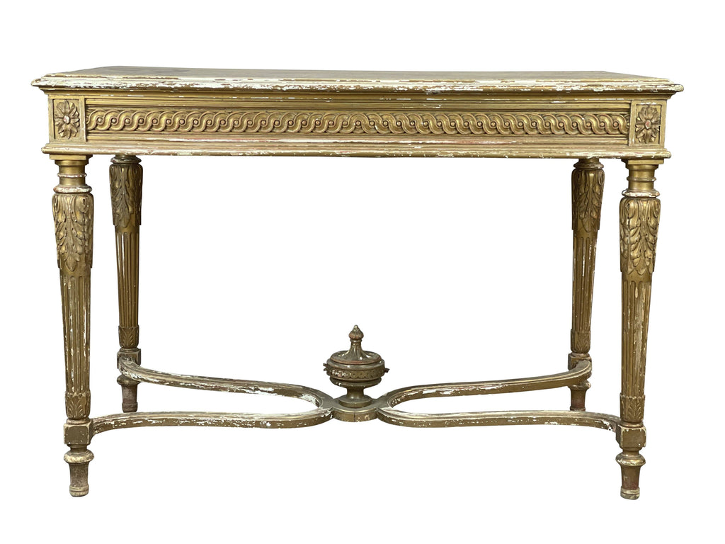 An Ornate Giltwood Table