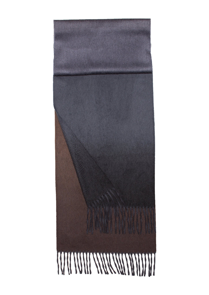 Nuance Ombre Cashmere Throw Oxide - A Modern Grand Tour